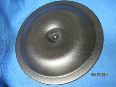 Aftermarket air cleaner lid in Wetstone Black
