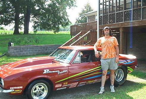 Billy with his 1967 Chevy Camaro RS / SS