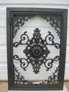 A/C vent cover by VintageVents.com in Silk Satin Black