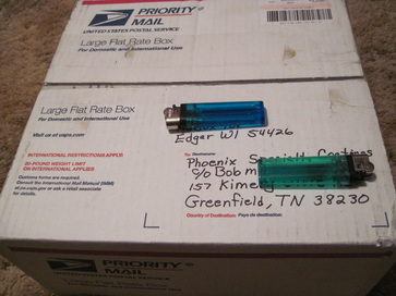 Photo of actual parts received on behalf of a valued repeat customer