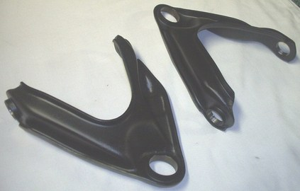 Mopar upper control arms in Silk Satin Black