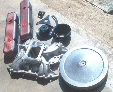 Custom big block Mopar parts (see Gallery for details)