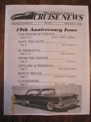 Feb 2011 Cruise News Pennsylvania car show publication
