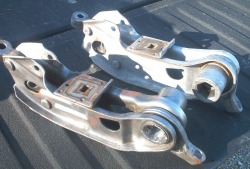 'Before' photo of Mopar lower control arms